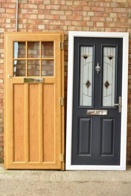 reclaimed upvc and composite doors
