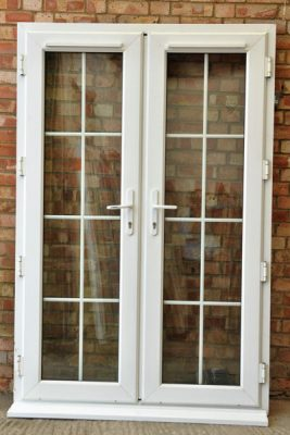 reclaimed upvc french doors