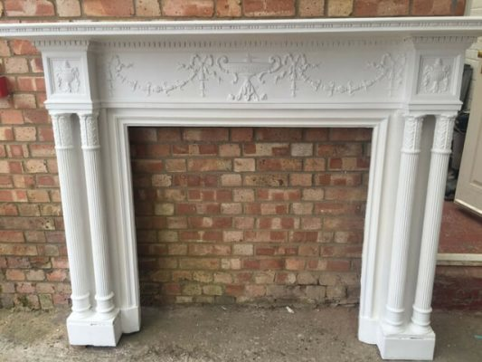 Georgian Carved Fire surround