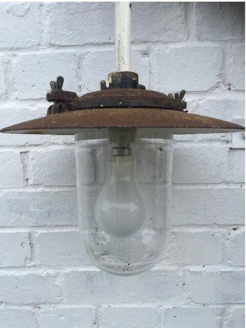 Vintage Metal Pendent Lamp