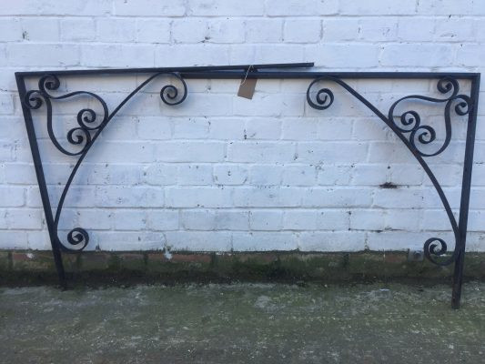 Wrought Iron Scrolled Barackets