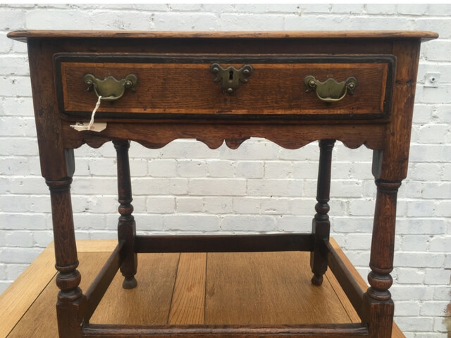 Georgian 3 plank side table
