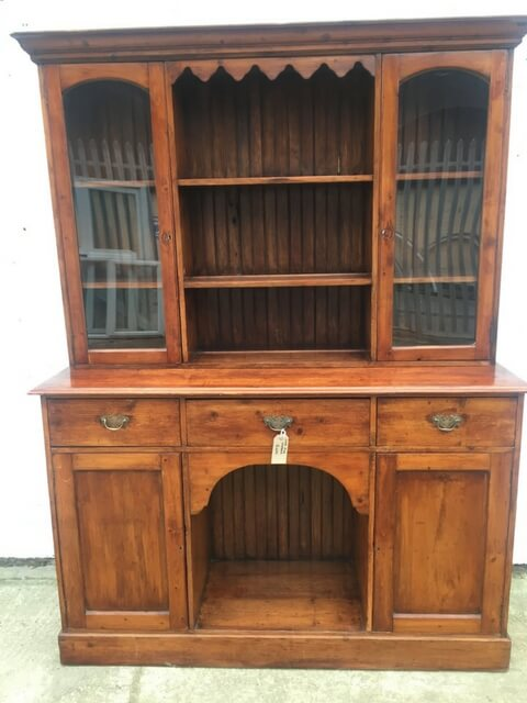 Stained Pine Dresser circa 1890