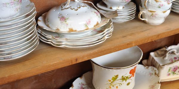 reclaimed china porcelaine