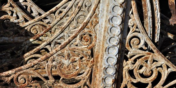 reclaimed ironwork